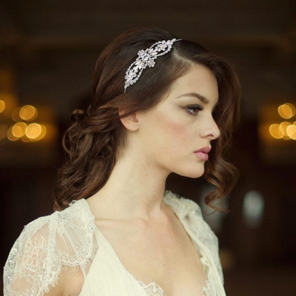 Bella Pearl Bridal Headband