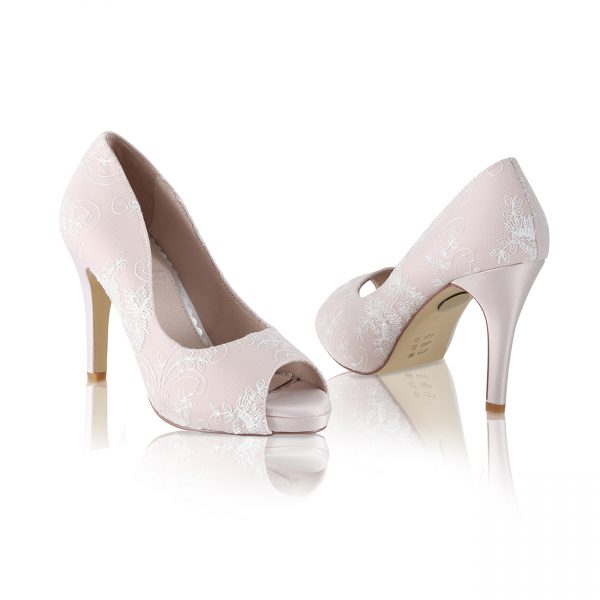 Perfect Bridal Celia Shoes - Blush