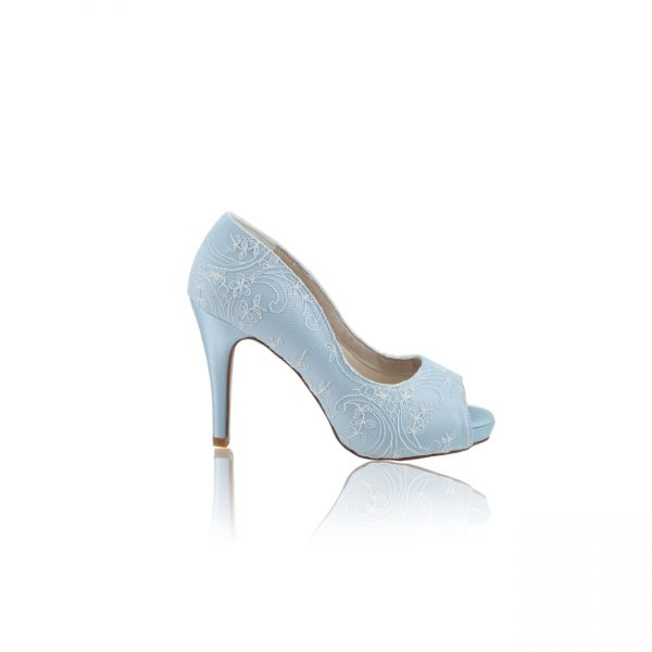 Perfect Bridal Celia Shoes - French Blue
