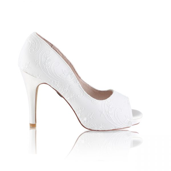 Perfect Bridal Celia Shoes - Oyster