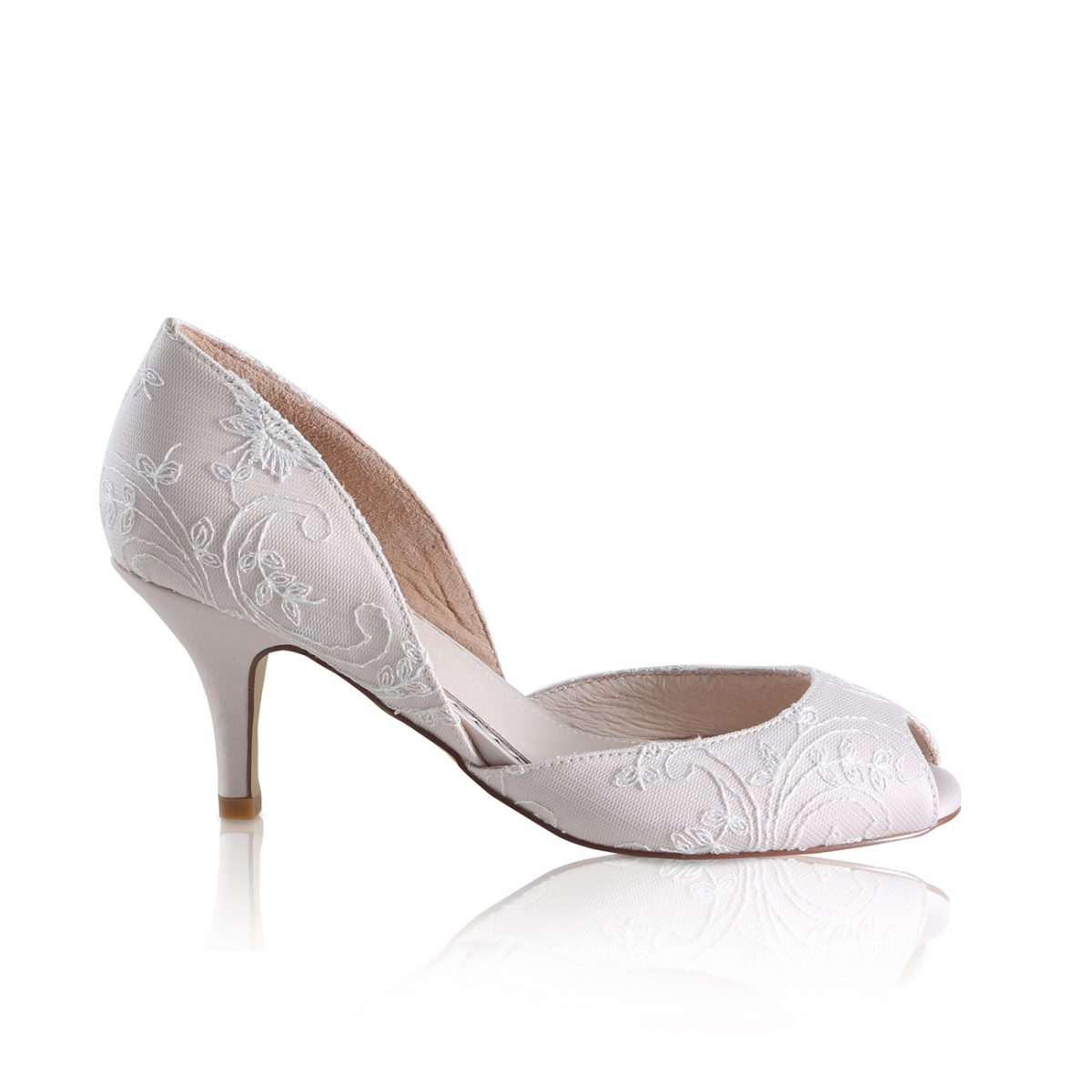 Perfect Bridal Corinne Shoes - Blush