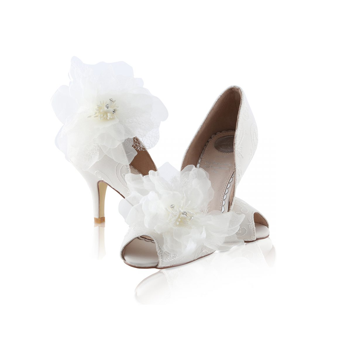 Perfect Bridal Corinne Shoes - Oyster