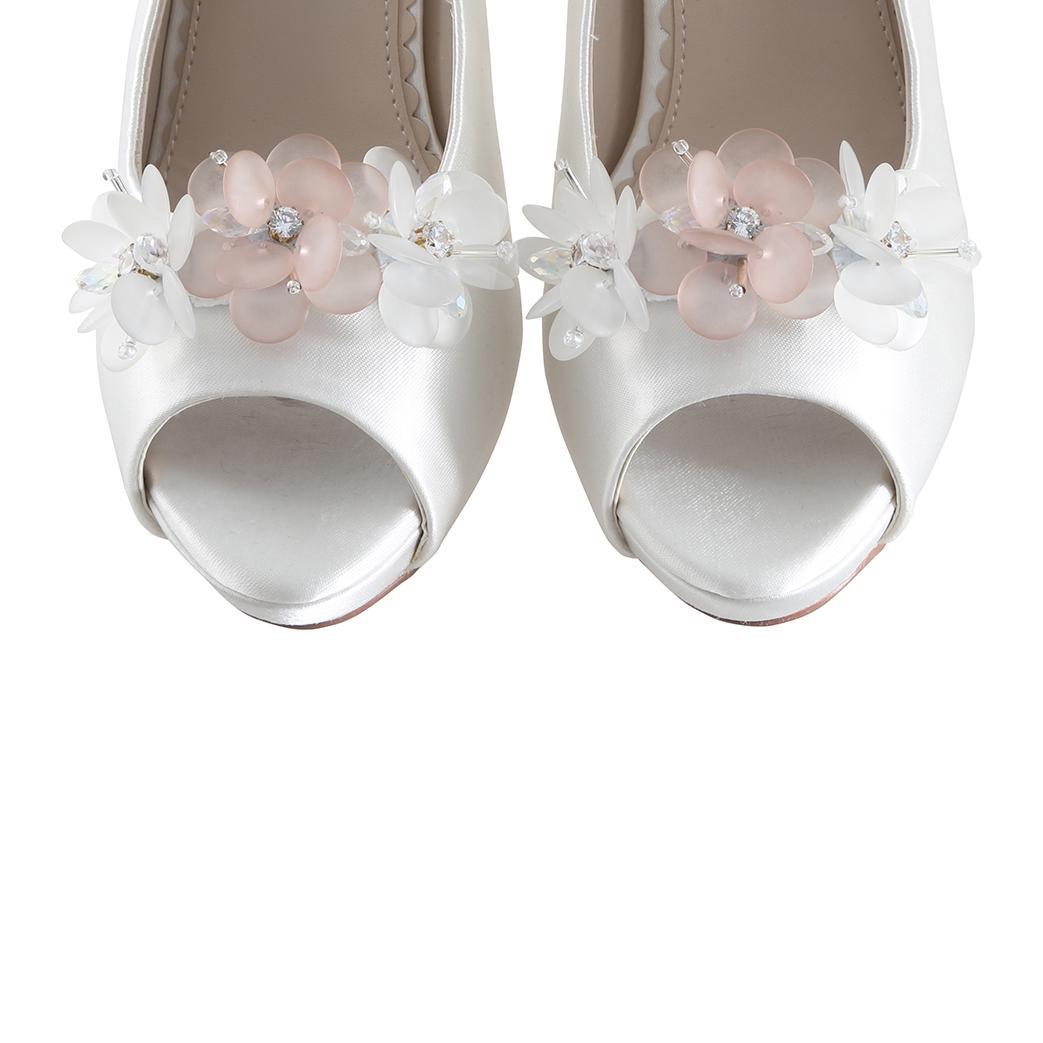 Perfect Bridal Damson Shoe Trim