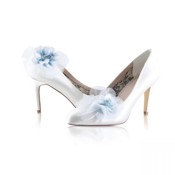 Perfect Bridal Apple Shoe Trim - Pale Blue