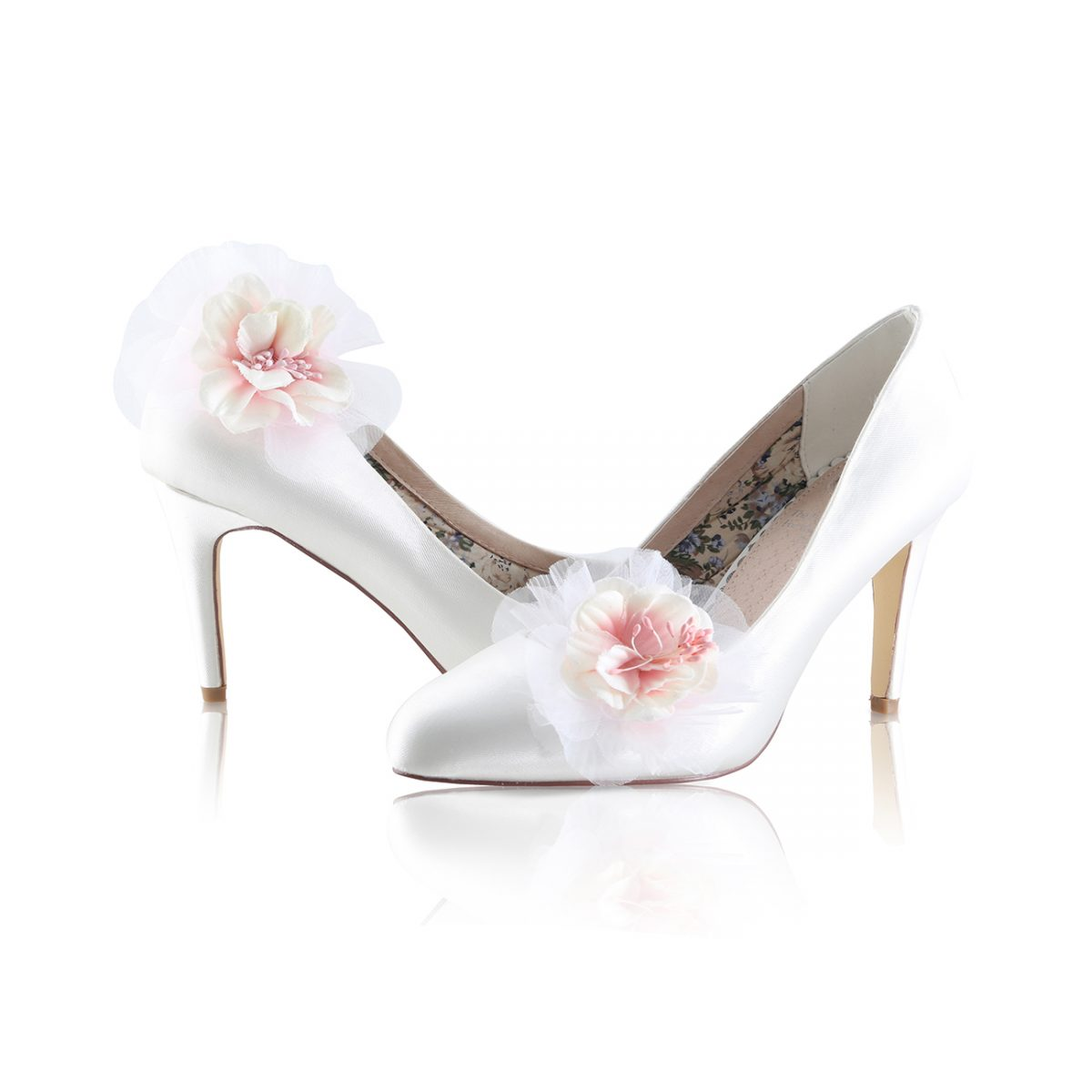 Perfect Bridal Apple Shoe Trim - Pale Pink