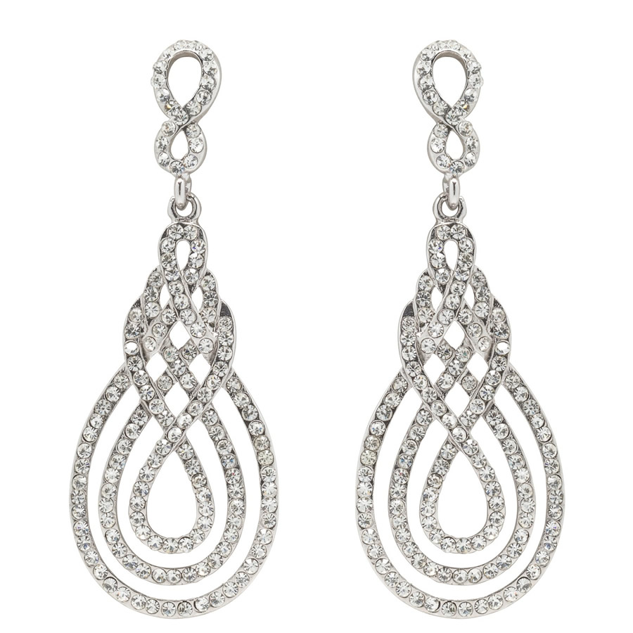 David Tutera Juliana Bridal Earrings
