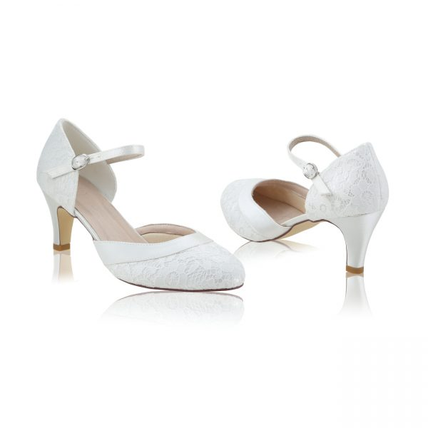 Perfect Bridal Elsa Shoes - Wide Fit Lace