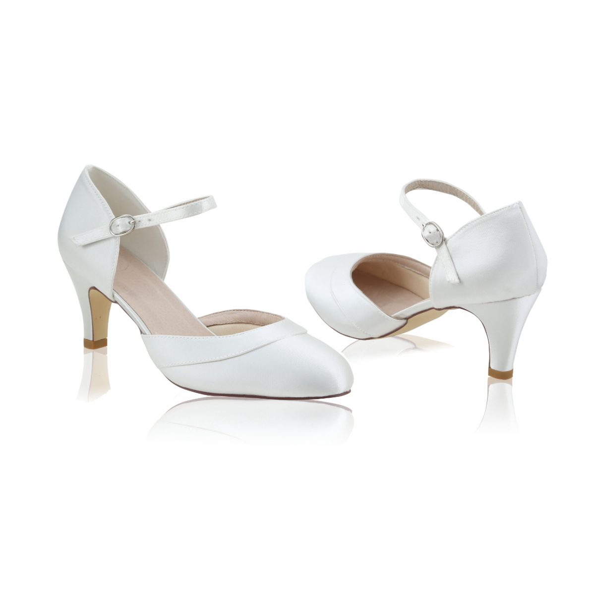 Perfect Bridal Elsa Shoes - Wide Fit Satin