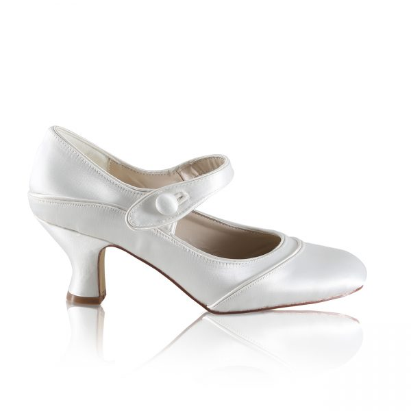 Perfect Bridal Esta Shoes - Satin - Wide Fit
