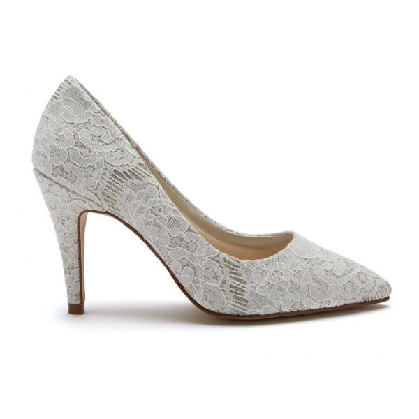 Rainbow Club Giverney - Shimmer Lace Court Shoes