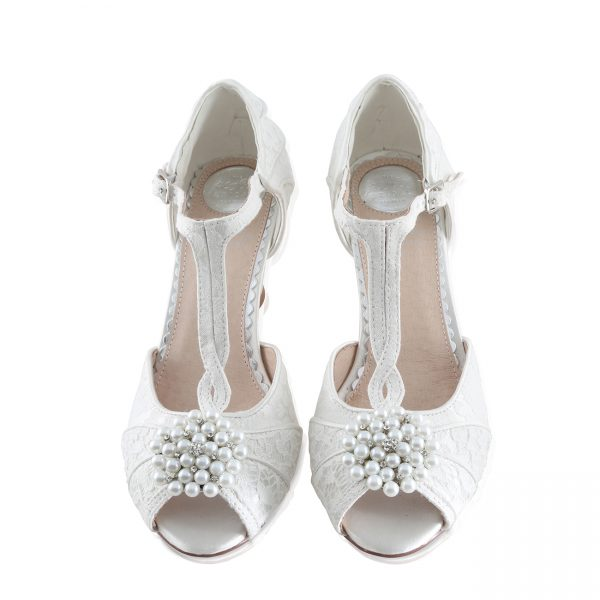 Perfect Bridal Guava Shoe Trim