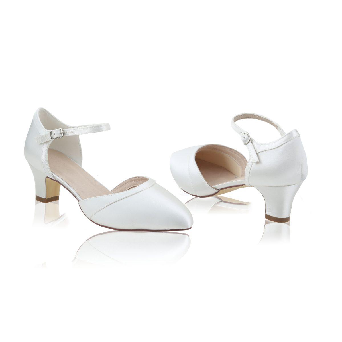 Perfect Bridal Ingrid Shoes - Satin