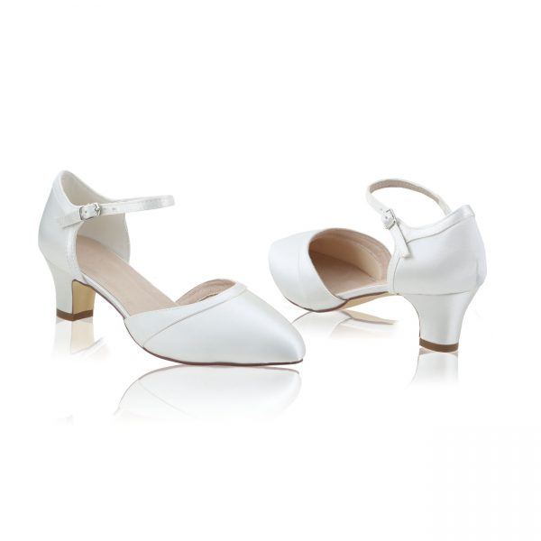 Perfect Bridal Ingrid Shoes - Satin