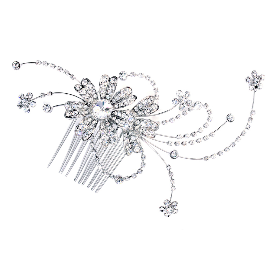 Ivory and Co Dahlia Hair Comb