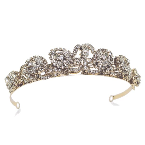 Ivory and Co Godiva Gold Tiara