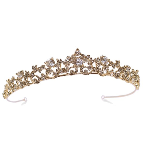 Ivory and Co Precious Gold Tiara