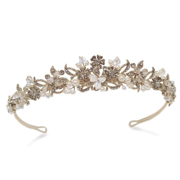 Ivory and Co Tanya Gold Tiara