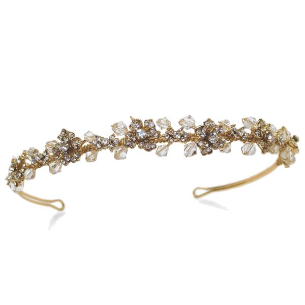 Ivory and Co Tilly Gold Headband