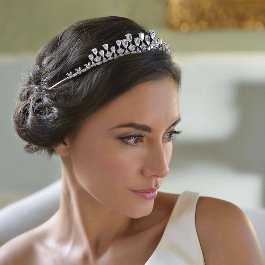 Ivory and Co Teardrop Tiara