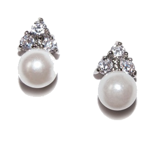 Ivory and Co Classic Pearl Studs