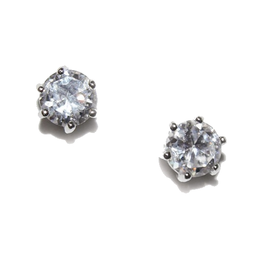 Ivory and Co Solitaire Studs