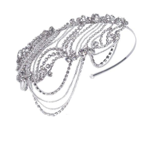 Ivory and Co Lottie Draping Bridal Headband