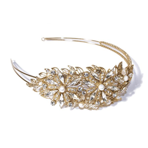 Ivory and Co Savannah Gold Headband