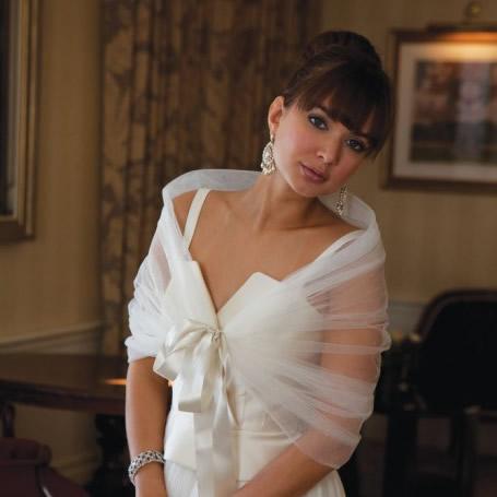 Joyce Jackson Capri Bridal Wrap