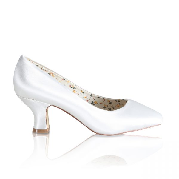 Perfect Bridal Mable Shoes - Satin - Wide fit