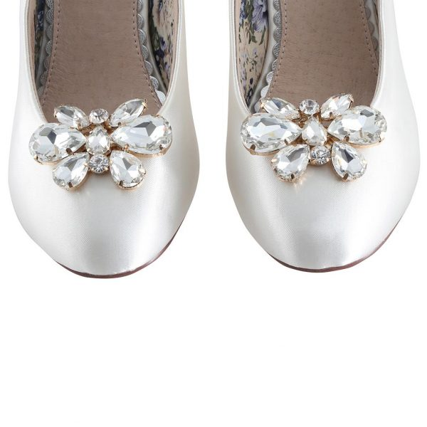 Perfect Bridal Mango Shoe Trim