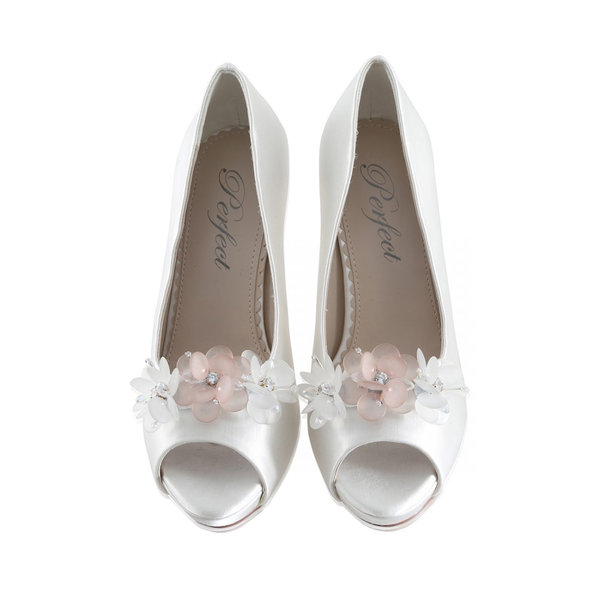 Perfect Bridal Damson Shoe Trim
