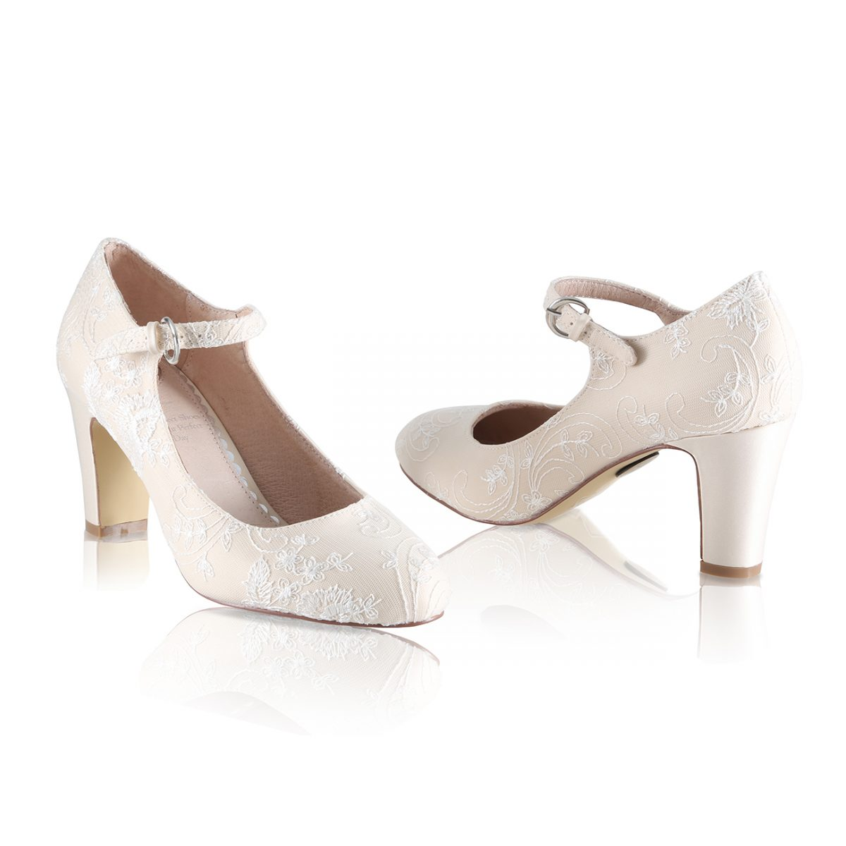 Perfect Bridal Martha Shoes - Gold