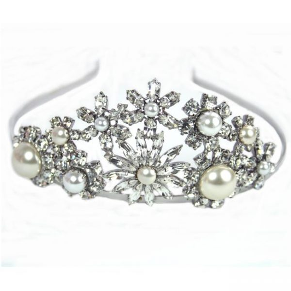Mayfair Tiara by Swoon Couture
