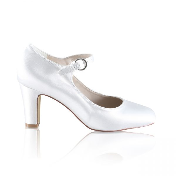 Perfect Bridal Milly Shoe - Ivory Satin