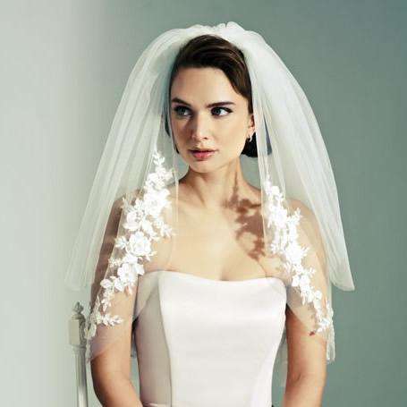 Joyce Jackson Monterey Wedding Veil