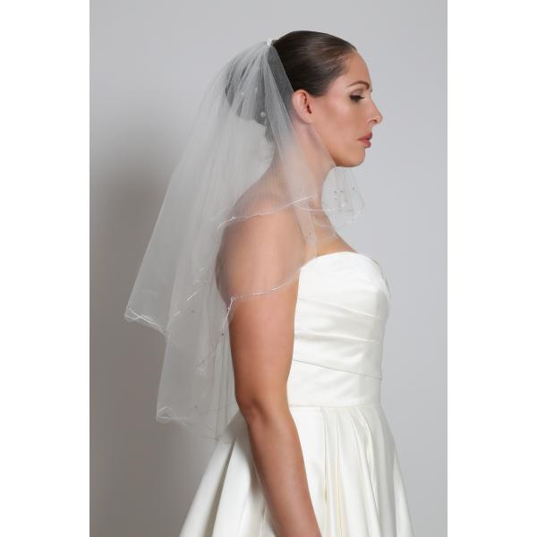 Perfect Bridal Veil Beatrice