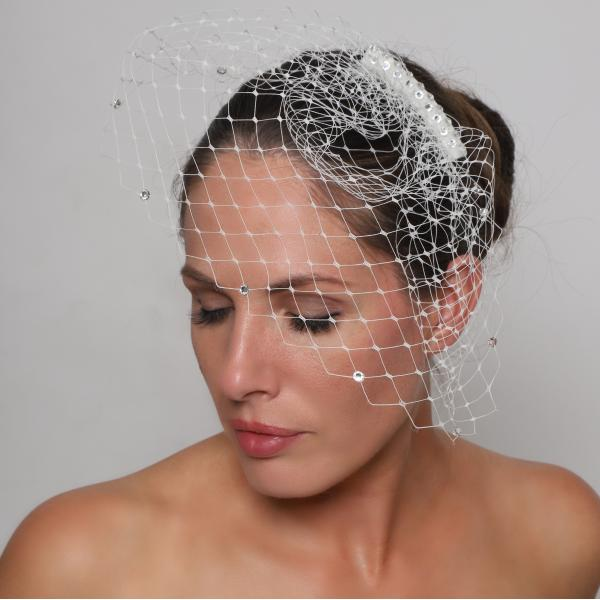 Perfect Bridal Sienna Birdcage Veil