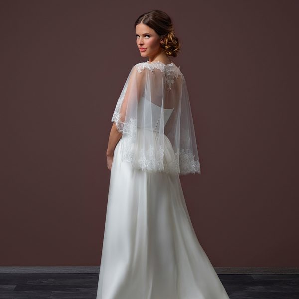 Poirier Enchanted Bridal Cape