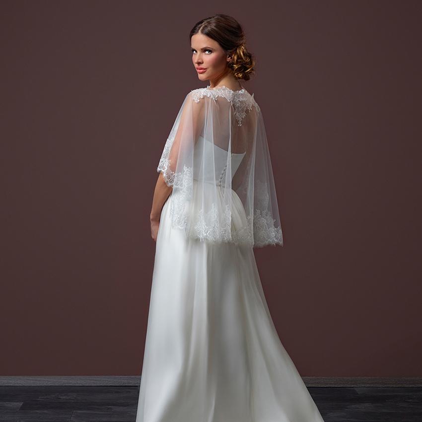 Poirier Enchanted Bridal Cape