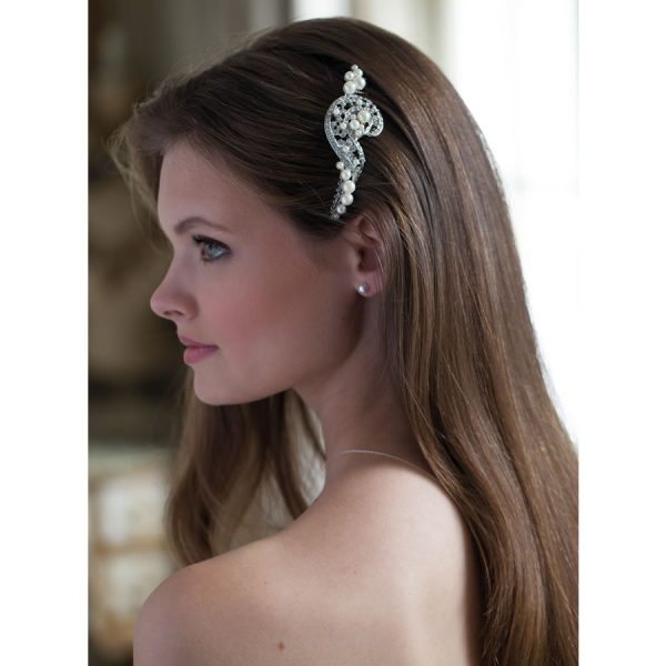 Rainbow Club Sorrel Bridal Comb