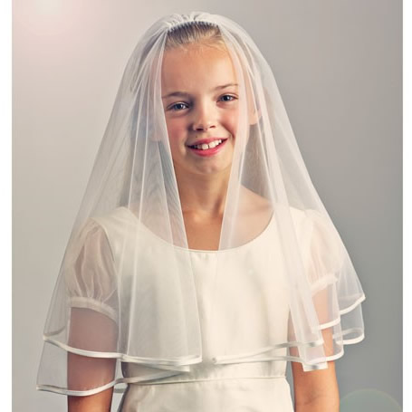 Rainbow Club Honeybird Communion Veil