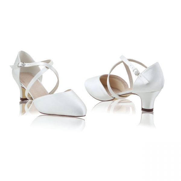 Perfect Bridal Renate Shoes - Ivory Satin