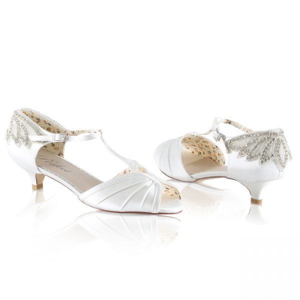 Perfect Bridal Rosetta Shoes
