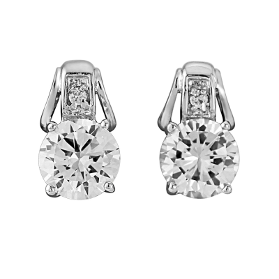 CZ Collection Crystal Grace Necklace Set