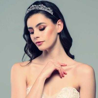 Sass B Juliet Exquisite Crystal Tiara
