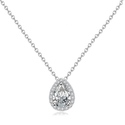 CZ Collection Dainty Gem Necklace