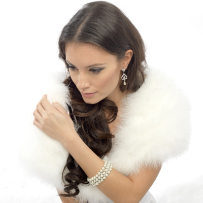 Elite Collection - Bridal Pearl Earrings