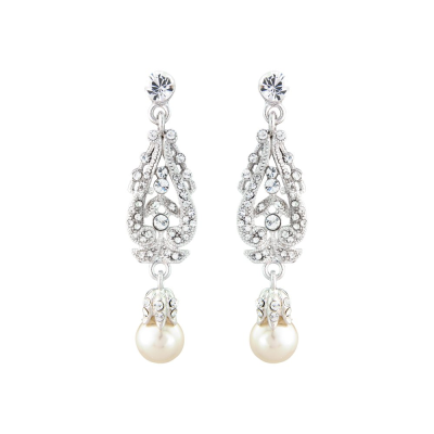 Vintage Dream Earrings - Ivory