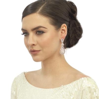 Bejewelled Art Deco Earrings