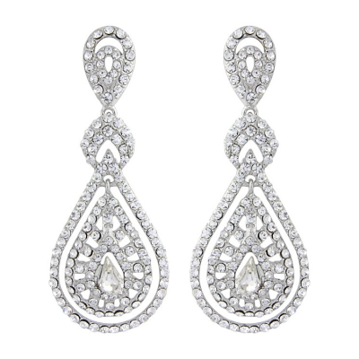 Bejewelled Art Deco Earrings